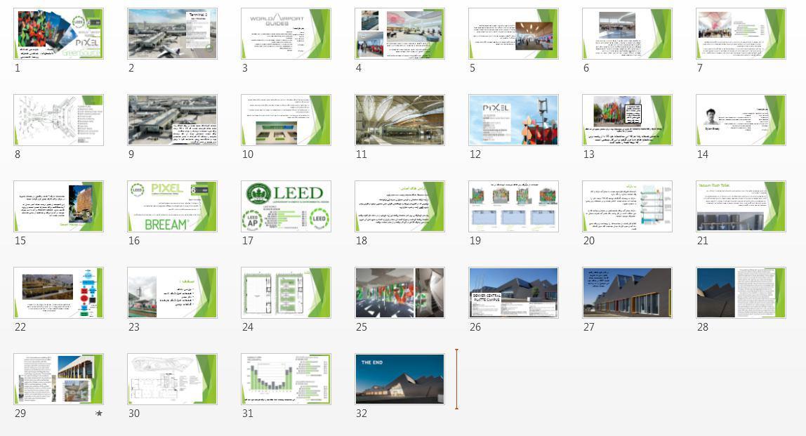 پروژه نمونه موردی خانه های سبز
