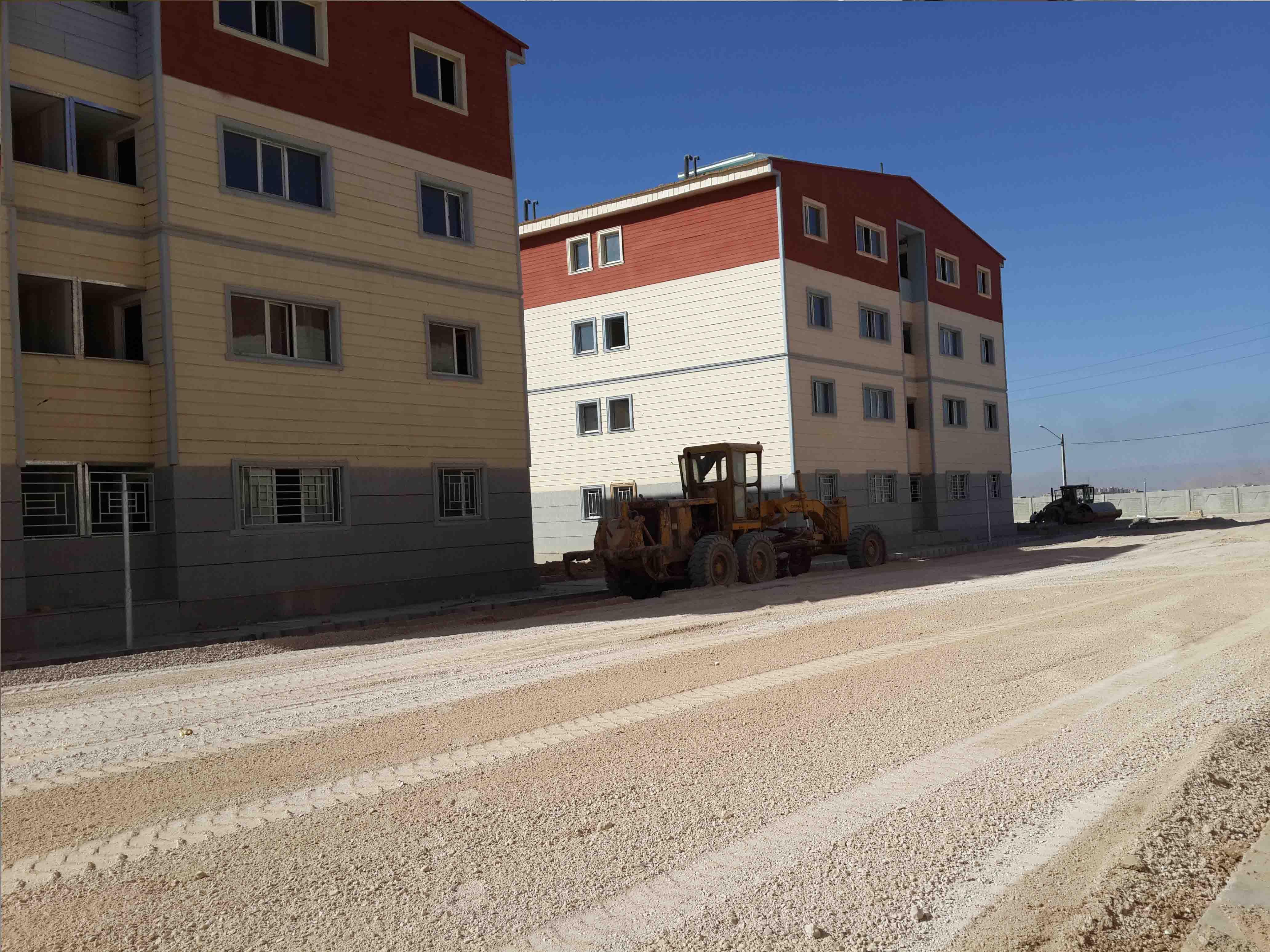 پروژه پاورپوینت ساختمان با مصالح بنایی