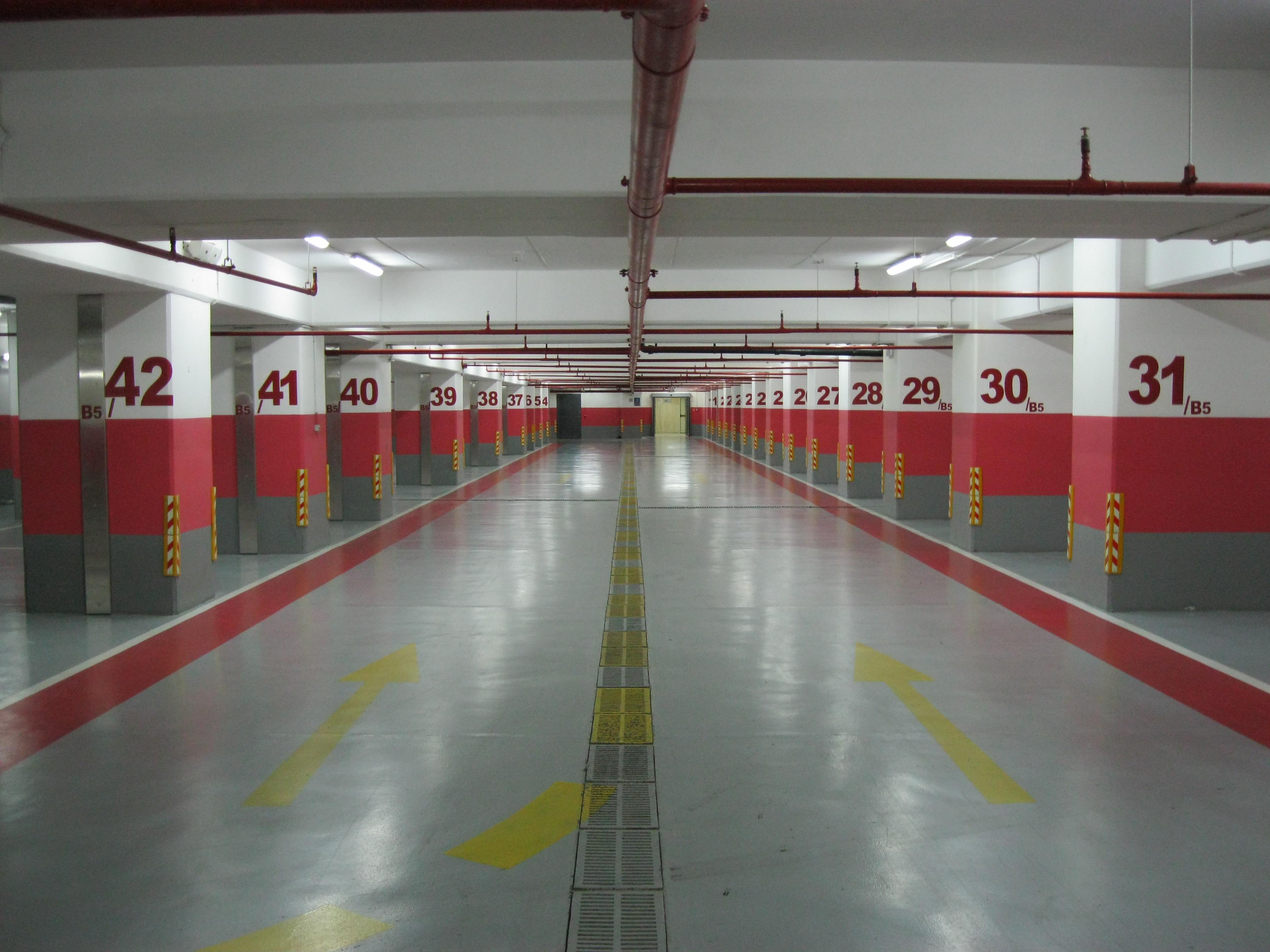 پروژه ی اتوکد پارکینگ طبقاتی