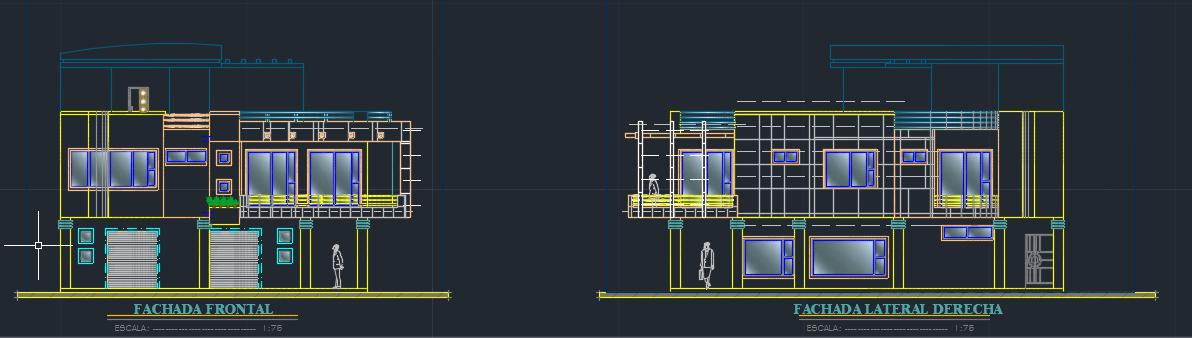 طراحی خانه دو همسایه