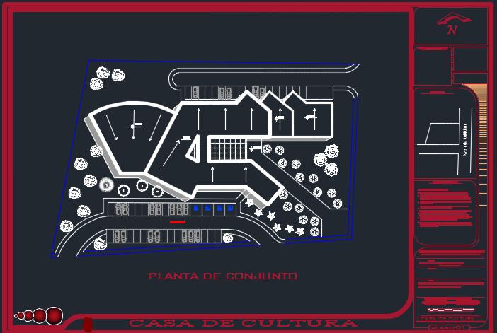 نقشه مرکز فرهنگی