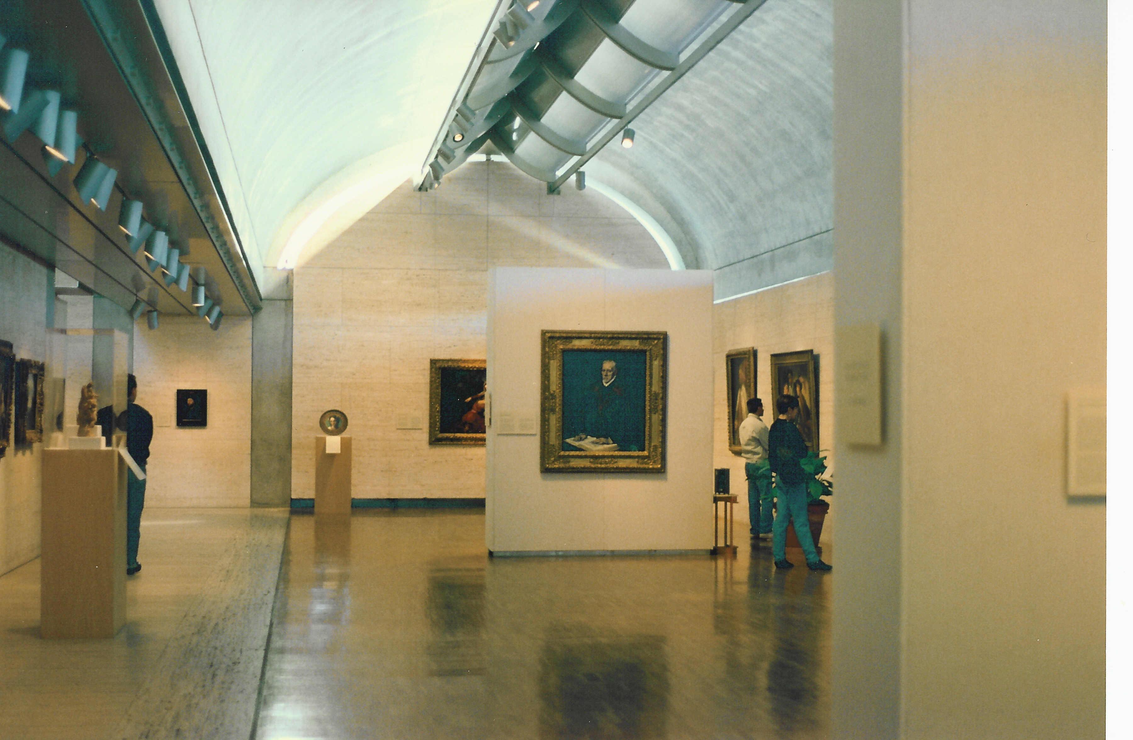 پروژه طراحی موزه هنر در شهر