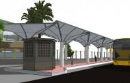 پروژه طراحی ایستگاه قطار و اتوبوس