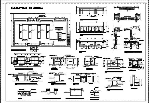 طراحی آزمایشگاه شیمی