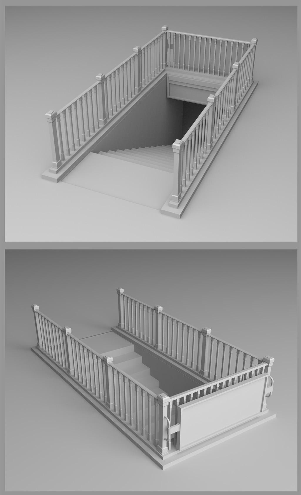 دانلود طراحی سردر ورودی مترو