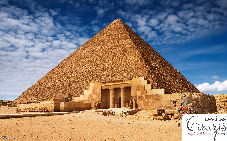 پروژه پاورپوینت معماری مصر باستان