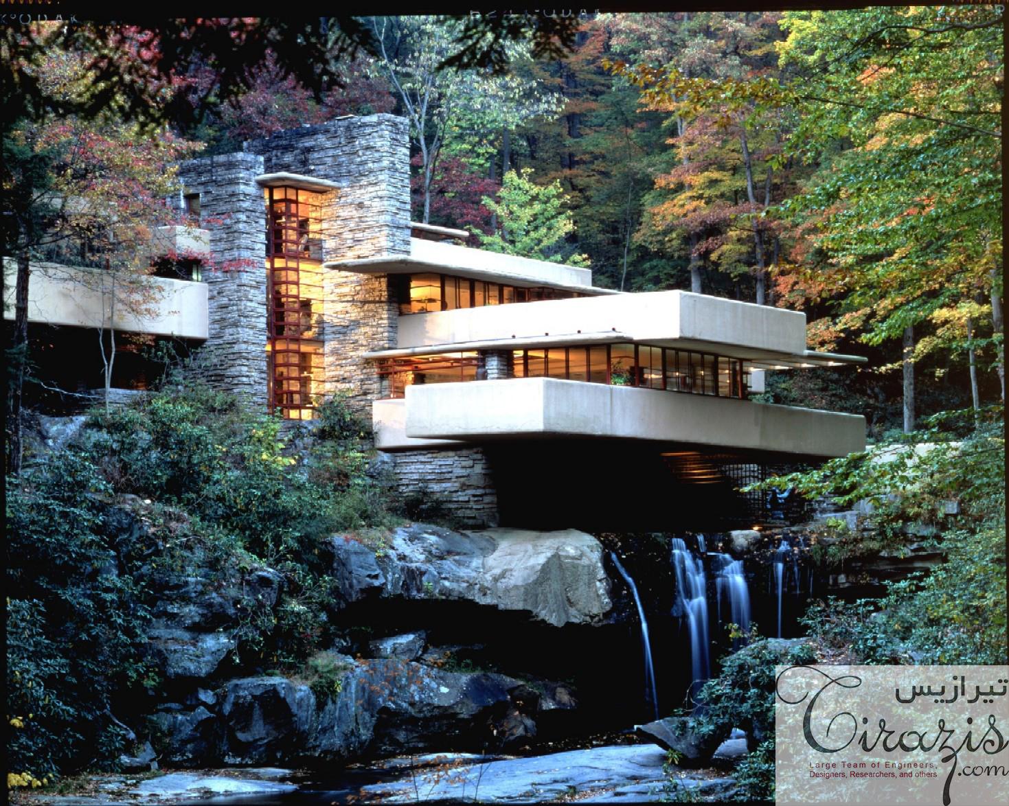 پاورپوینت معماری ارگانیک
